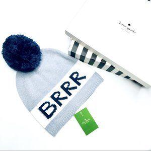 New Kate Spade New York Brrr Beanie Hat